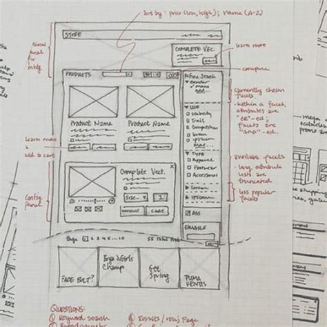 Sketches And Wireframes ui ux design sketches and wireframes from instagram