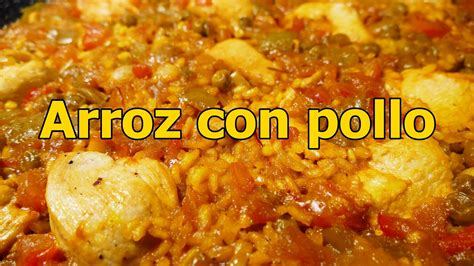 recetas faciles de cocina y economicas receta arroz con pollo espa 209 ol recetas de cocina faciles