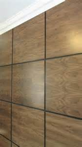 We are able to create wood panelling using solid and veneered