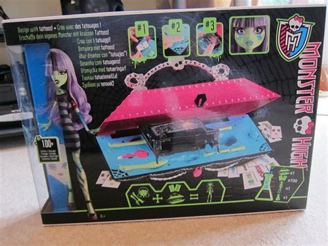 monster high doll design lab monster high create a monster lab review toys r us blog