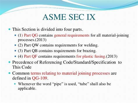 asme code section ix asme sec ix w