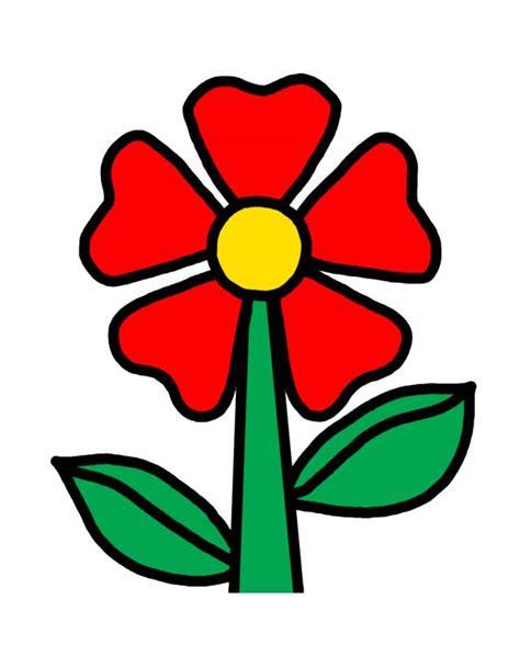 disegno di un fiore di segno colorato ape
