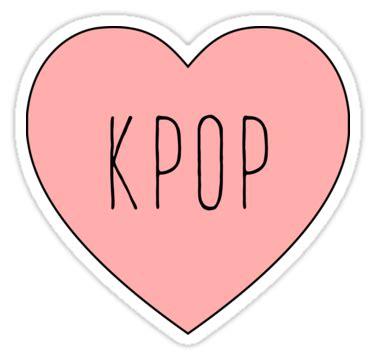 imagenes de i love kpop quot i love kpop heart quot stickers by thepinecones redbubble
