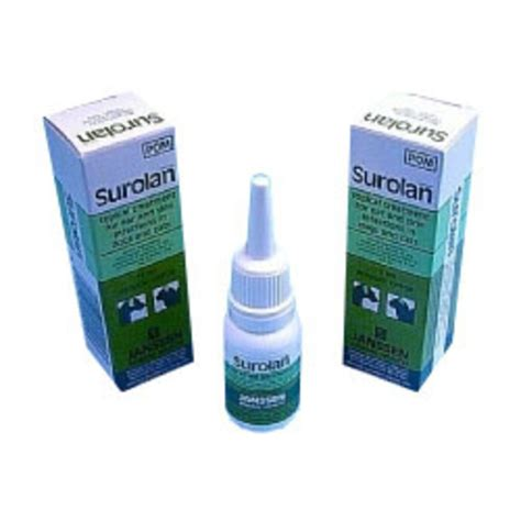 surolan for dogs surolan ear drops and cutaneous suspension for pets chemist direct