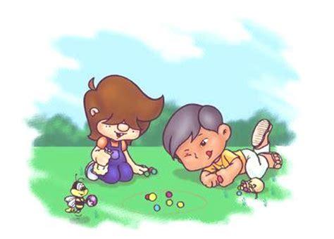 dibujos niños jugando metras las canicas o bolitas info taringa