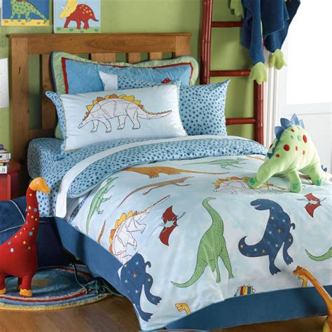 surprising dinosaur toddler bedding with wooden floor