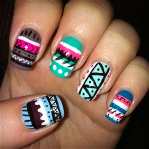 aztec nail desings studio design gallery best design tribal stiletto nails studio design gallery best design