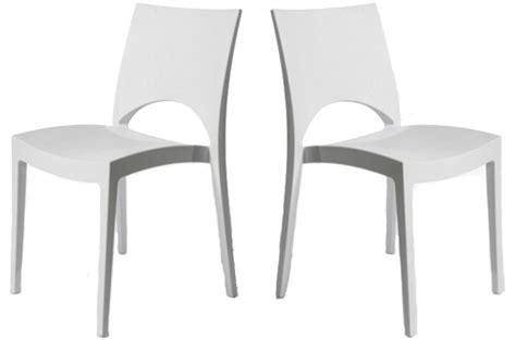 chaises blanches pas cher chaise de cuisine blanche pas cher en ligne