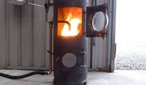 waste oil burning heater for garage diy used oil heater diy do it your self
