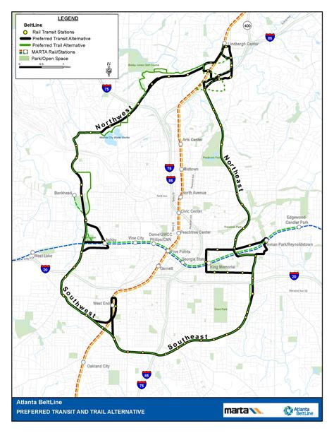 atlanta beltline map atlanta beltline overview atlanta beltline