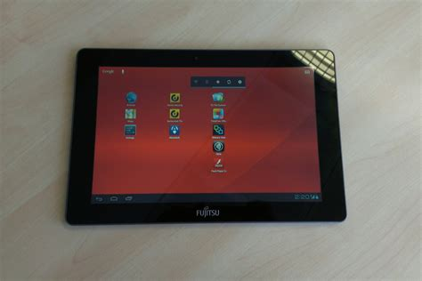 android tablet reviews fujitsu m532 android tablet review it pro
