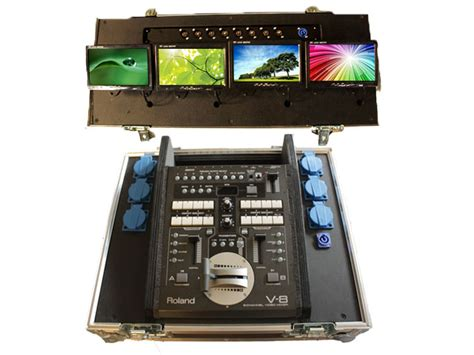 Mixer Edirol V8 verhuur edirol v8 videomixer edirol v8 videomixer huren