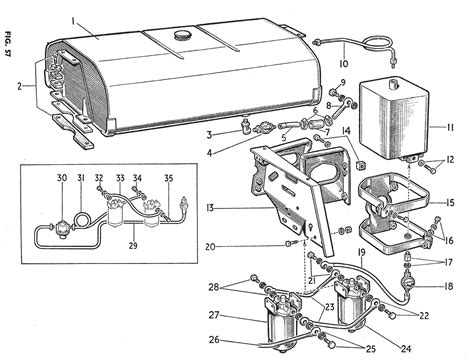 massey ferguson 245 parts diagram cold start injector wiring diagram get free image about