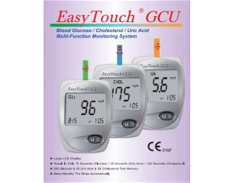 gcu easy touch 3in1 easy touch meter