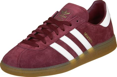 Adidas Munchen Snakers adidas m 252 nchen shoes maroon white