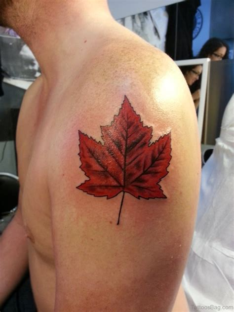 leaf tattoos 62 attractive leaves tattoos for shoulder