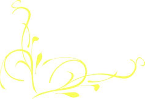 yellow pattern clipart yellow swirl clip art at clker com vector clip art