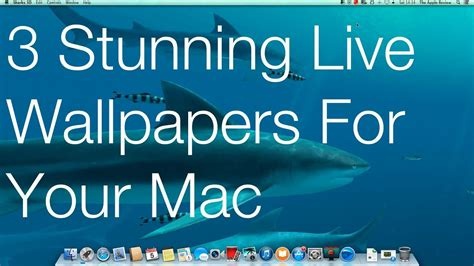 Free 3d Live Wallpaper For Mac by 3 Stunning Live Wallpapers For Your Mac