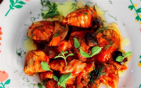 cucina petto di pollo ricetta petto di pollo alla cacciatora la cucina italiana