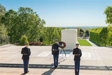 Arlington National Cemetery Information Guide Unknowns