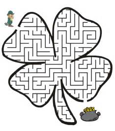 St Patrick's Day Coloring Pages And Activities For Kids Free  sketch template
