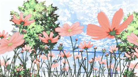 wallpaper gif flower gif cute kawaii flower scenery cherry blossom cute gif