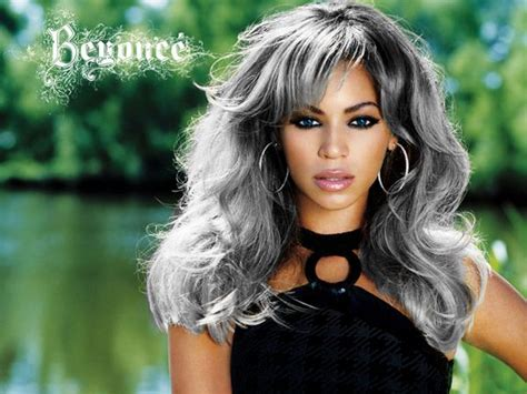 am african with salt and pepper hair how can i get platinum salt n pepper hairstyles styles 25 gorgeous beyonce hair