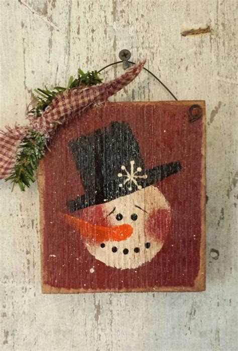 25 best ideas about painted snowman on pinterest