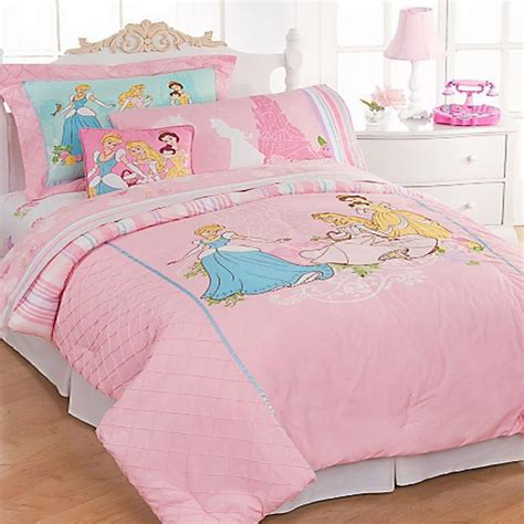 Disney Bedding Princess Twin Comforter Bed In A Bag Set Ebay Princess Bedding Set