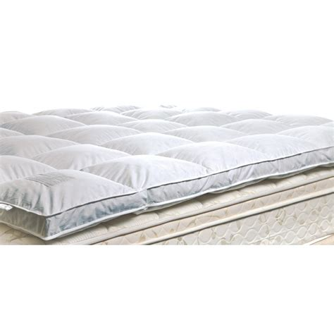 Robin Wilson Home Luxury Mattress Pad by Mattress Topper Image Is Loading Goose Topper 1