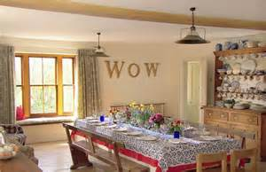 Dining Room Table Ideas kirstie allsopp opens up her devon mansion as holiday home