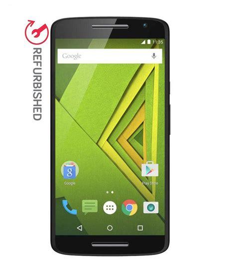 Hp Motorola Ram 2gb refurbished moto x play 16gb black 2gb ram 6 month seller warranty refurbished mobiles