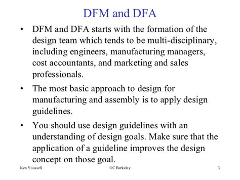 Design For Manufacturing Assembly Guidelines | design formanufacturingandassembly