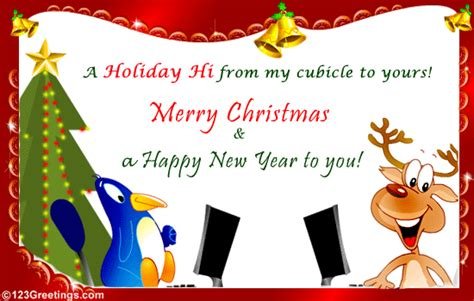 christmas   colleague  business  ecards