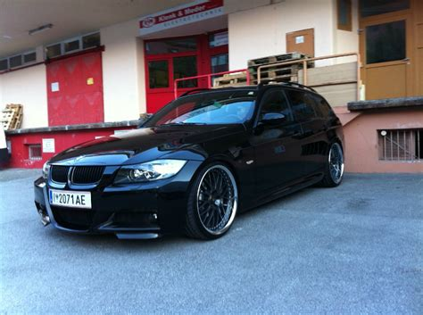 Bmw E90 Vorne Tieferlegen by E91 Black Beast Carbo 3er Bmw E90 E91 E92 E93