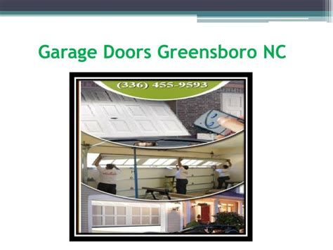 Overhead Door Greensboro Nc Ppt Garage Doors Repair Greensboro Powerpoint Presentation Id 7216327