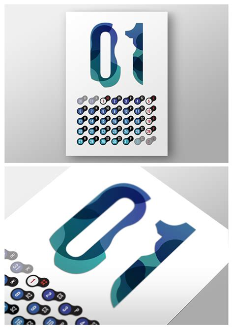 Calendar Design Behance | calendar design on behance