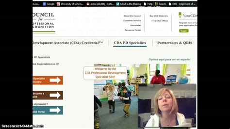 cda portfolio template cda process overview and professional portfolio
