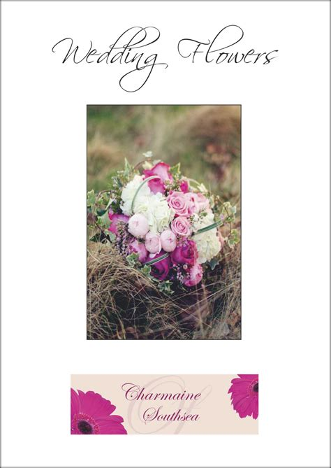 Wedding Florist Brochure by Florist Wedding Brochures
