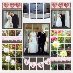 wedding scrapbook page the gallery for gt wedding scrapbook layouts