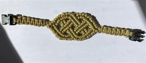 Macrame Celtic Knots - celtic macrame bracelet