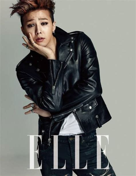 G Dragon takes on the 'genderless' fashion trend for 'ELLE'