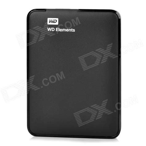 Hardisk Wd Black 1tb wd elements portable 2 5 quot usb 3 0 disk drive hdd black 1tb free shipping dealextreme