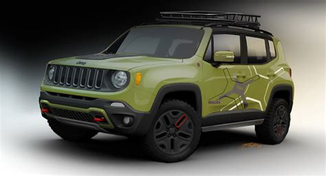 The New Jeep Renegade Mopar Preps A Pair Of Jeep Renegade Concepts For Naias