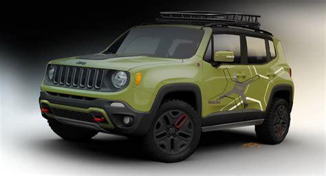 Jeep Renegade Concept Mopar Preps A Pair Of Jeep Renegade Concepts For Naias