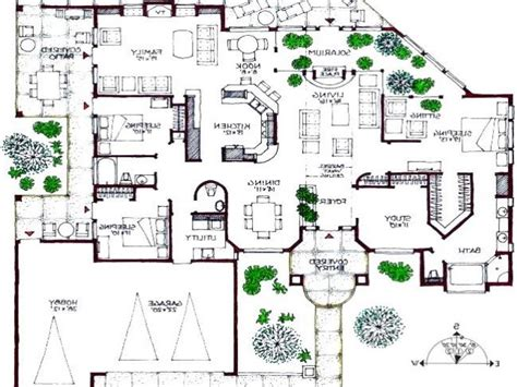 modern floor plans free contemporary house plan free