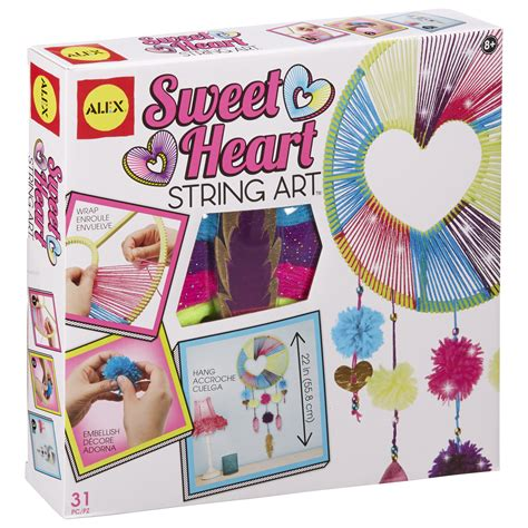 best arts and crafts kits for alex toys craft sweetheart string alexbrands