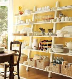 pottery barn kitchen shelves count it all kitchen open shelving