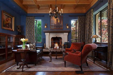 blue fireplace 26 blue living room ideas interior design pictures
