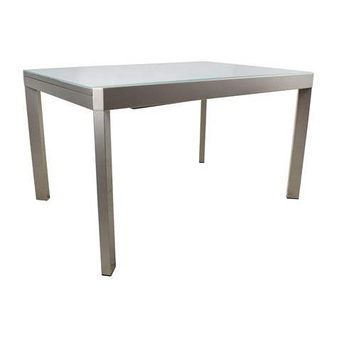 extendable dining table with bench 79 off calligaris calligaris extendable glass dining